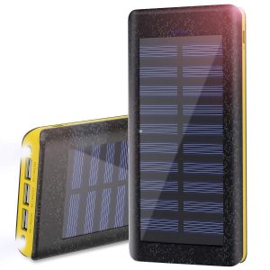 bateria solar externa 24Amp