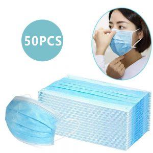 mascarilla antivirus de papel